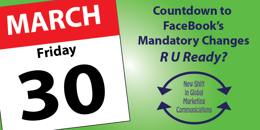 facebook changes March 30, 2012